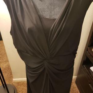 Chaps black evening dress size 20